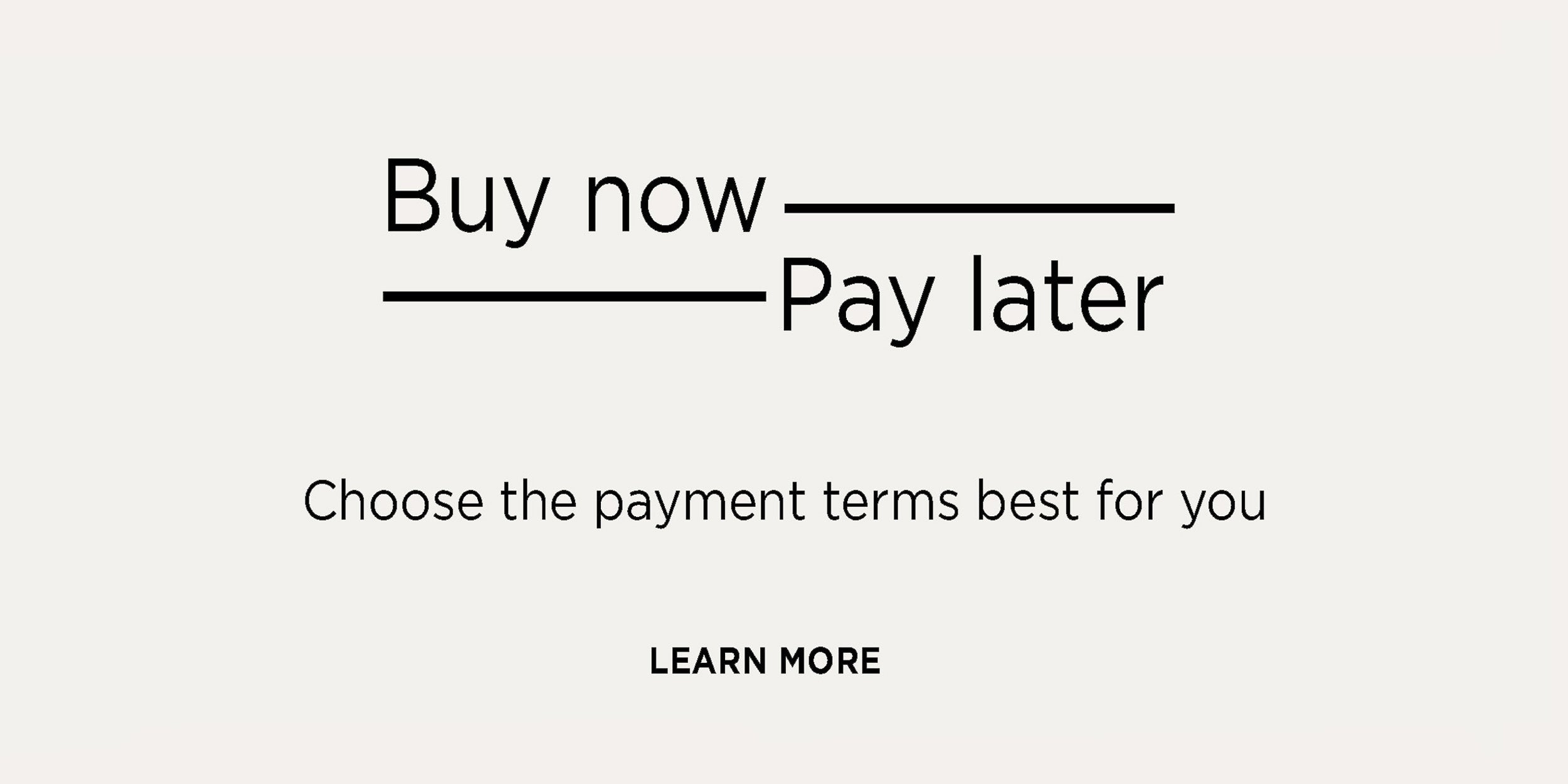 09- Buy now pay later flexible payment terms