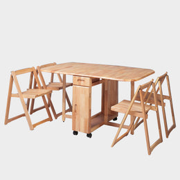 Tristen Foldable Dining Set
