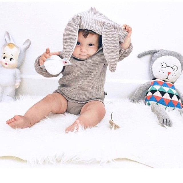 Bunny Sweater by Oeuf at Bonjour Baby Baskets