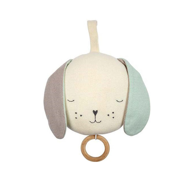 Musical Dog baby gift at Bonjour Baby Baskets, luxury baby gifts