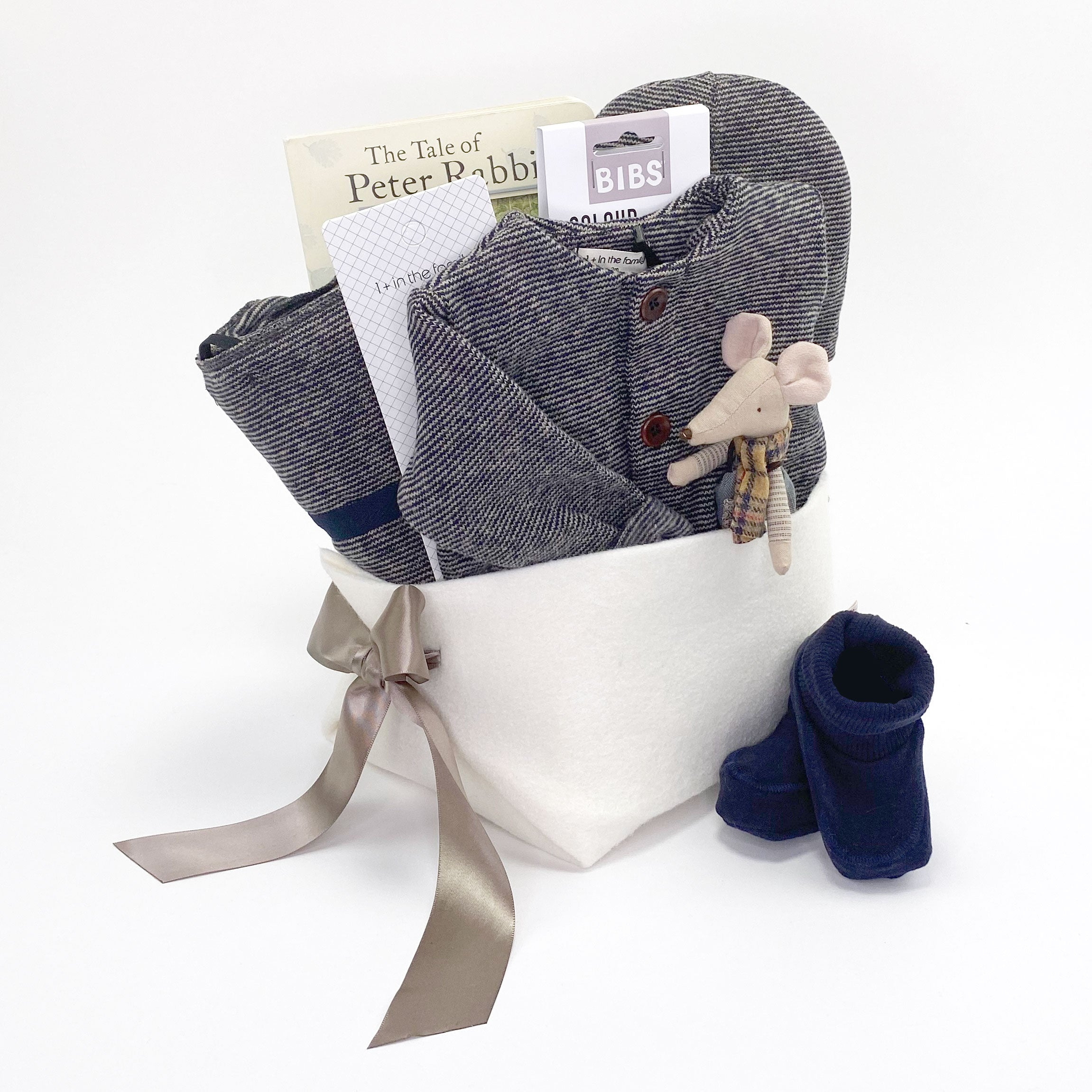 Neutral Baby Gift Basket - Luxury Baby Gifts