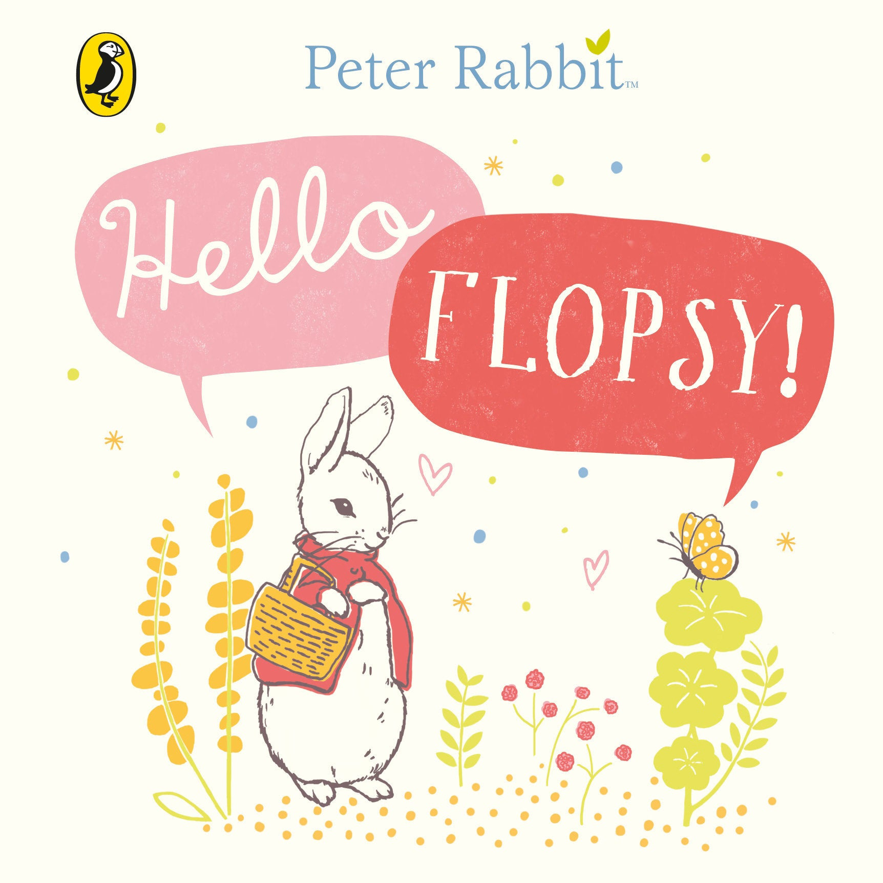 Hello Flopsy by Peter Rabbit Book