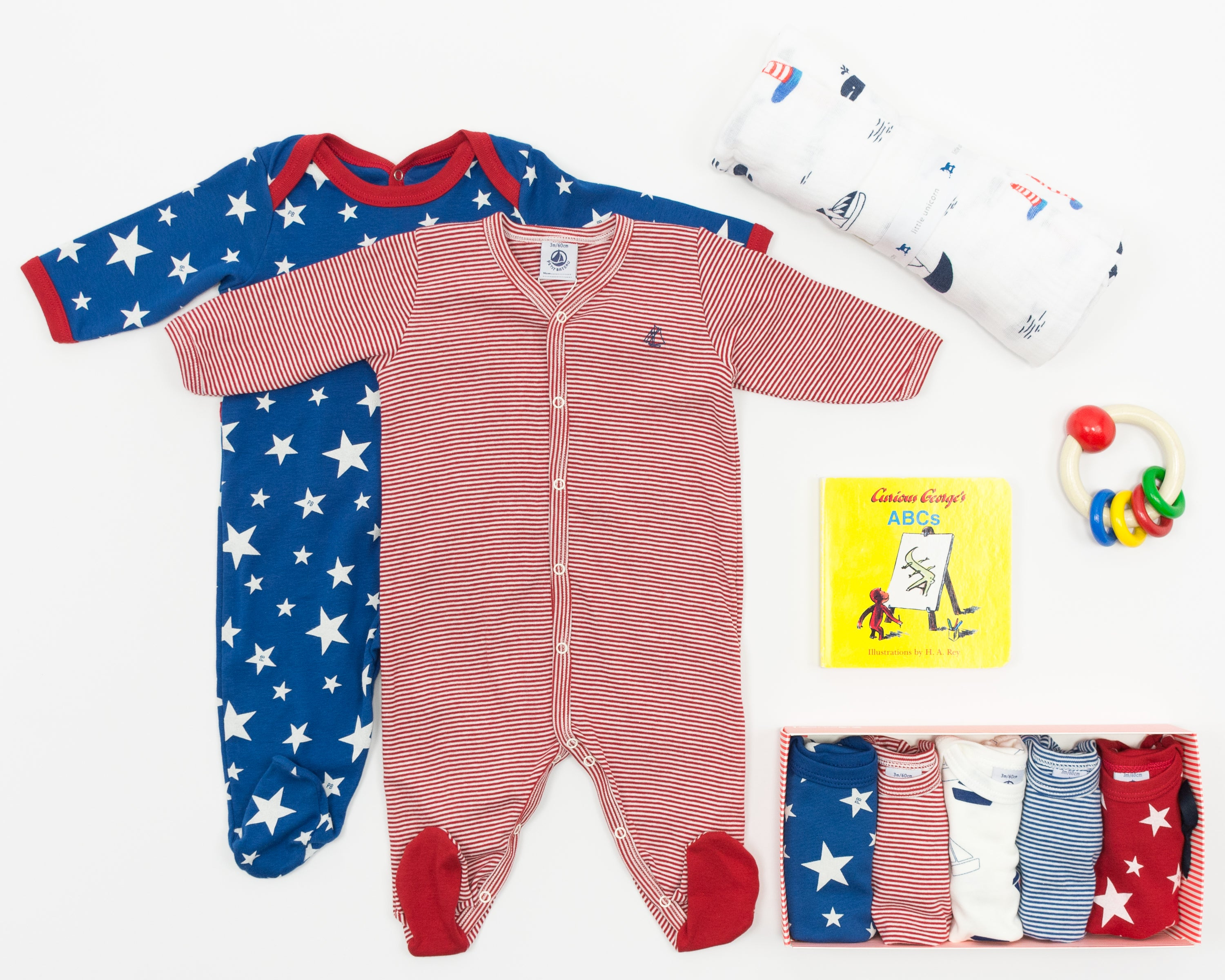 Petit Bateau Best Baby Gifts at Bonjour Baby Baskets