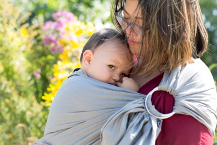 Potter and Pehar Babywearing Sling at Bonjour Baby Baskets