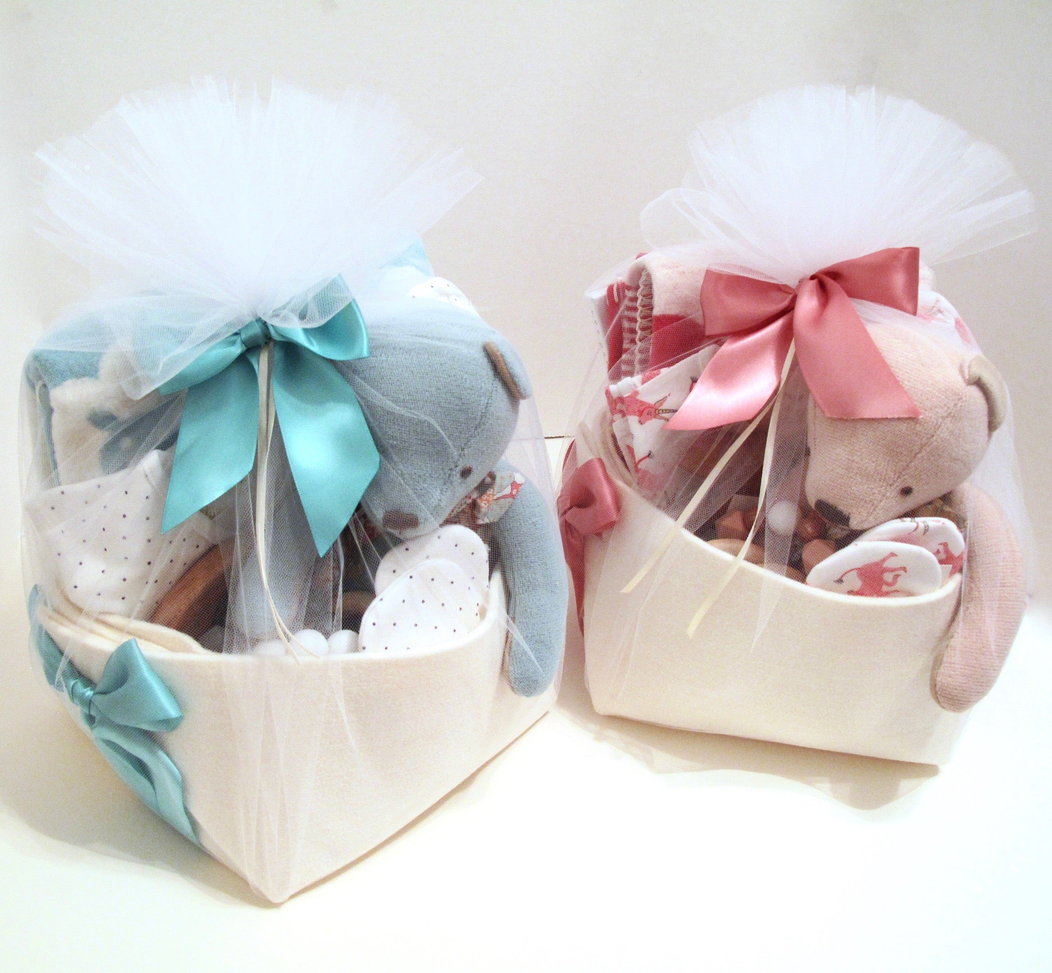 Twins Baby Gifts at Bonjour Baby Baskets