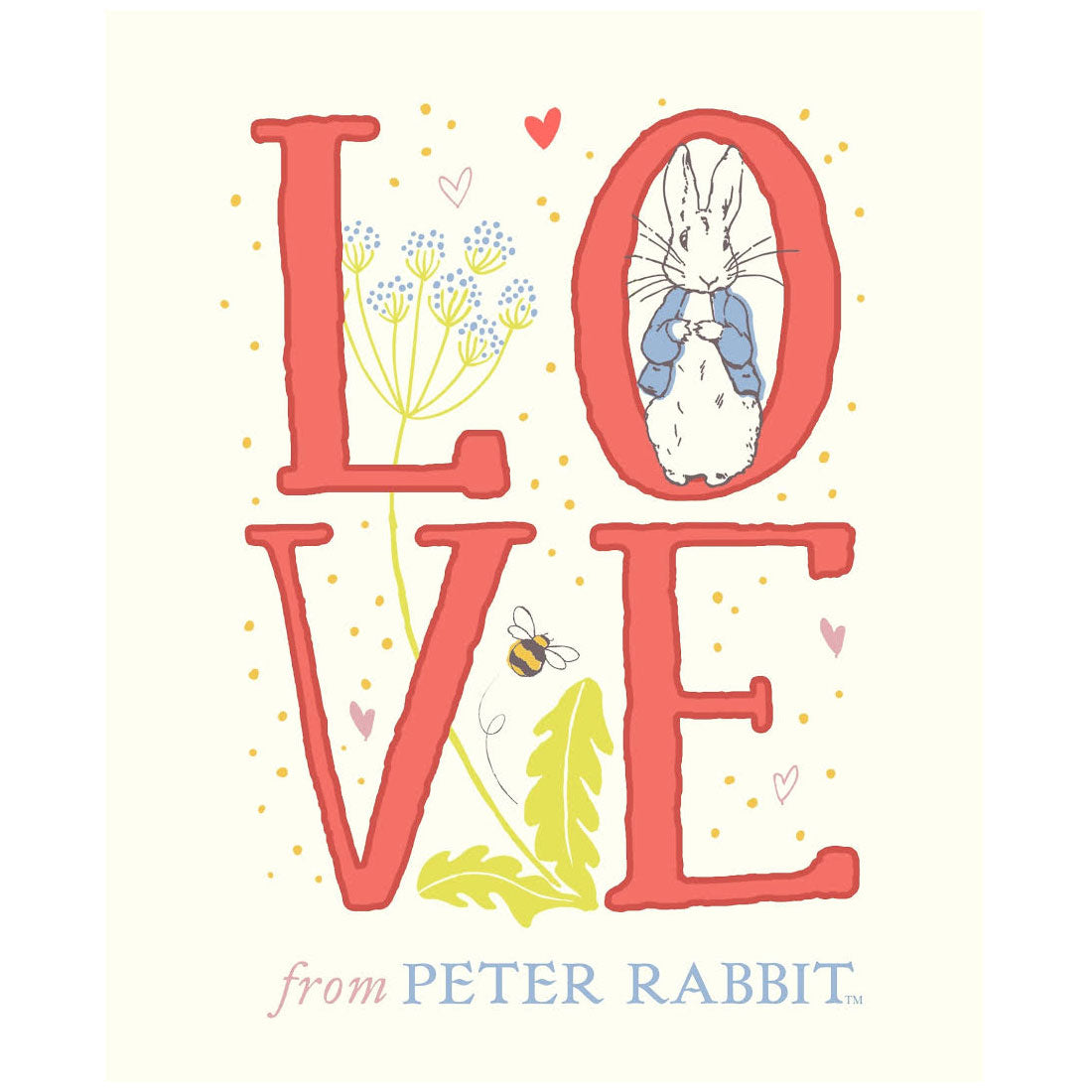 Love Baby Board Book by Peter Rabbit