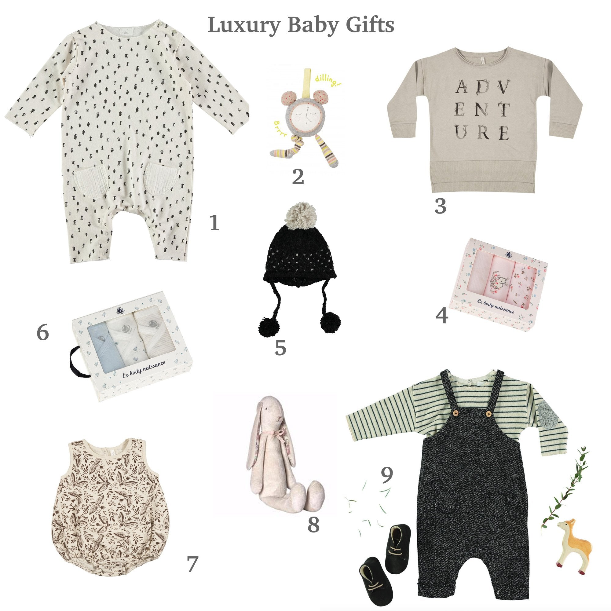 Best Trendy Baby Gifts of 2017