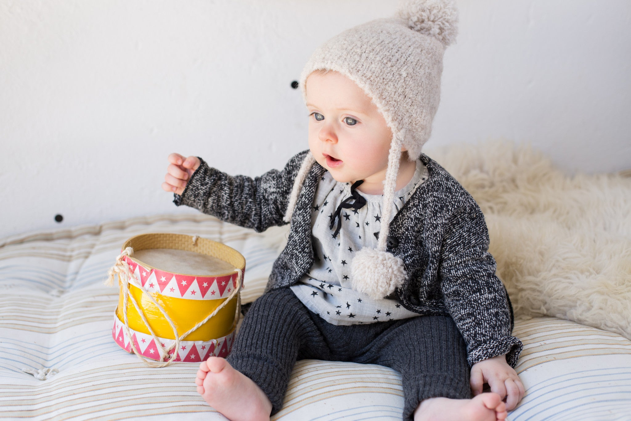 Buho Barcelona Designer Feature at Bonjour Baby Baskets - Luxury Baby Gift Baskets