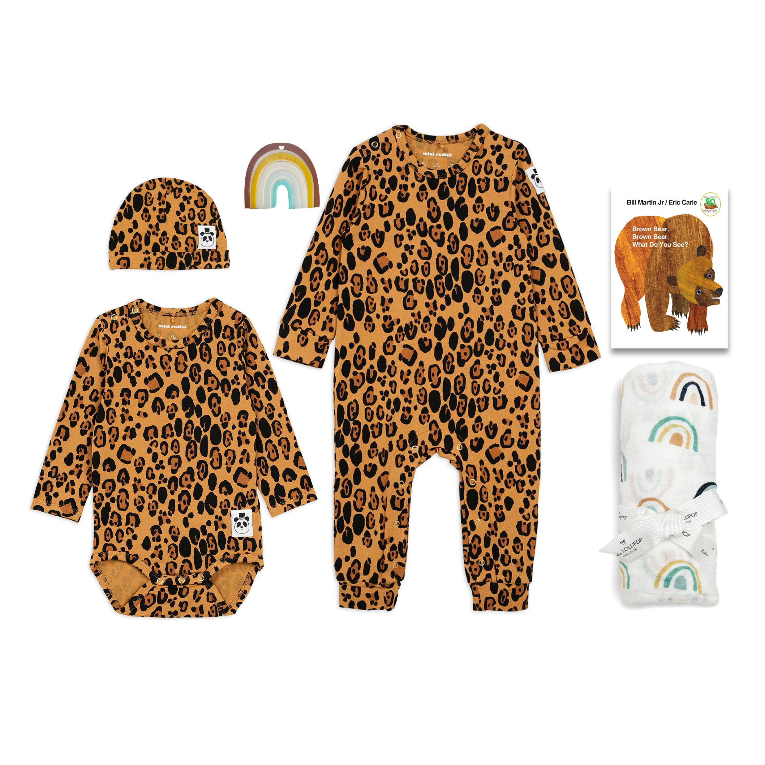 Trendy Baby Gifts featuring Mini Rodini at Bonjour Baby Baskets