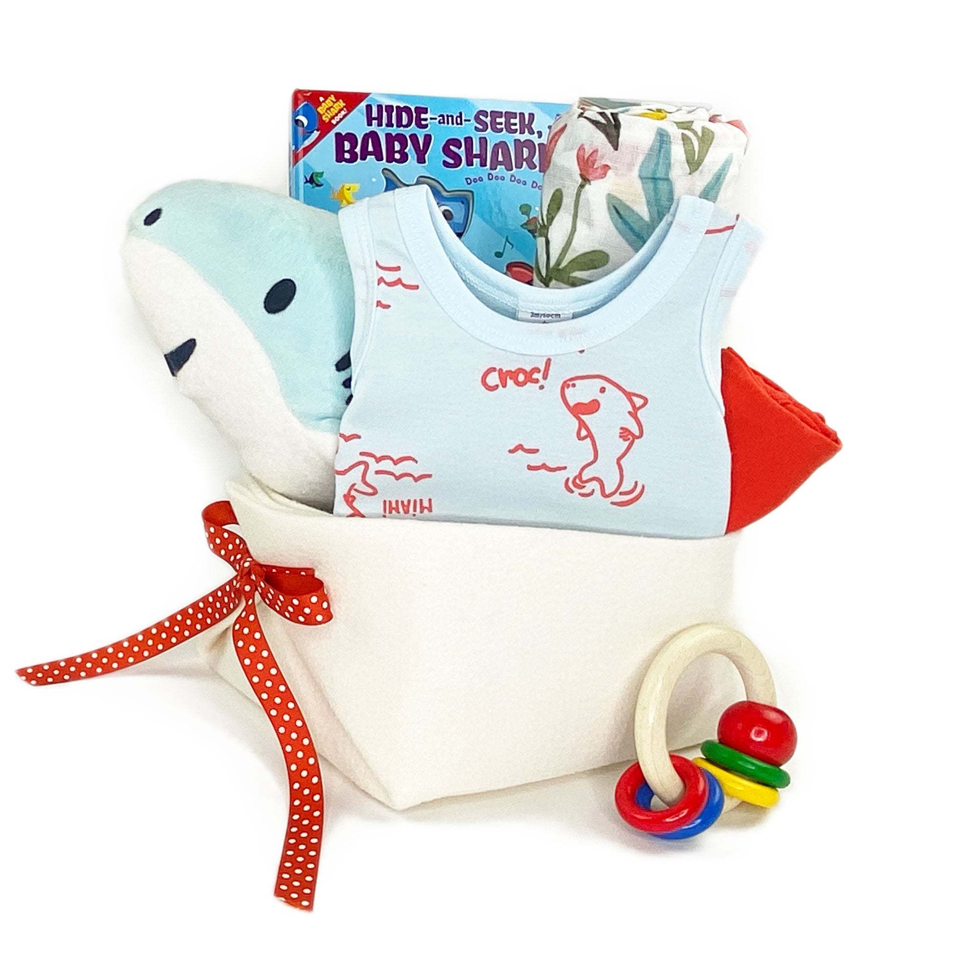 Baby Gift Basket featuring Petit Bateau at Bonjour Baby Baskets