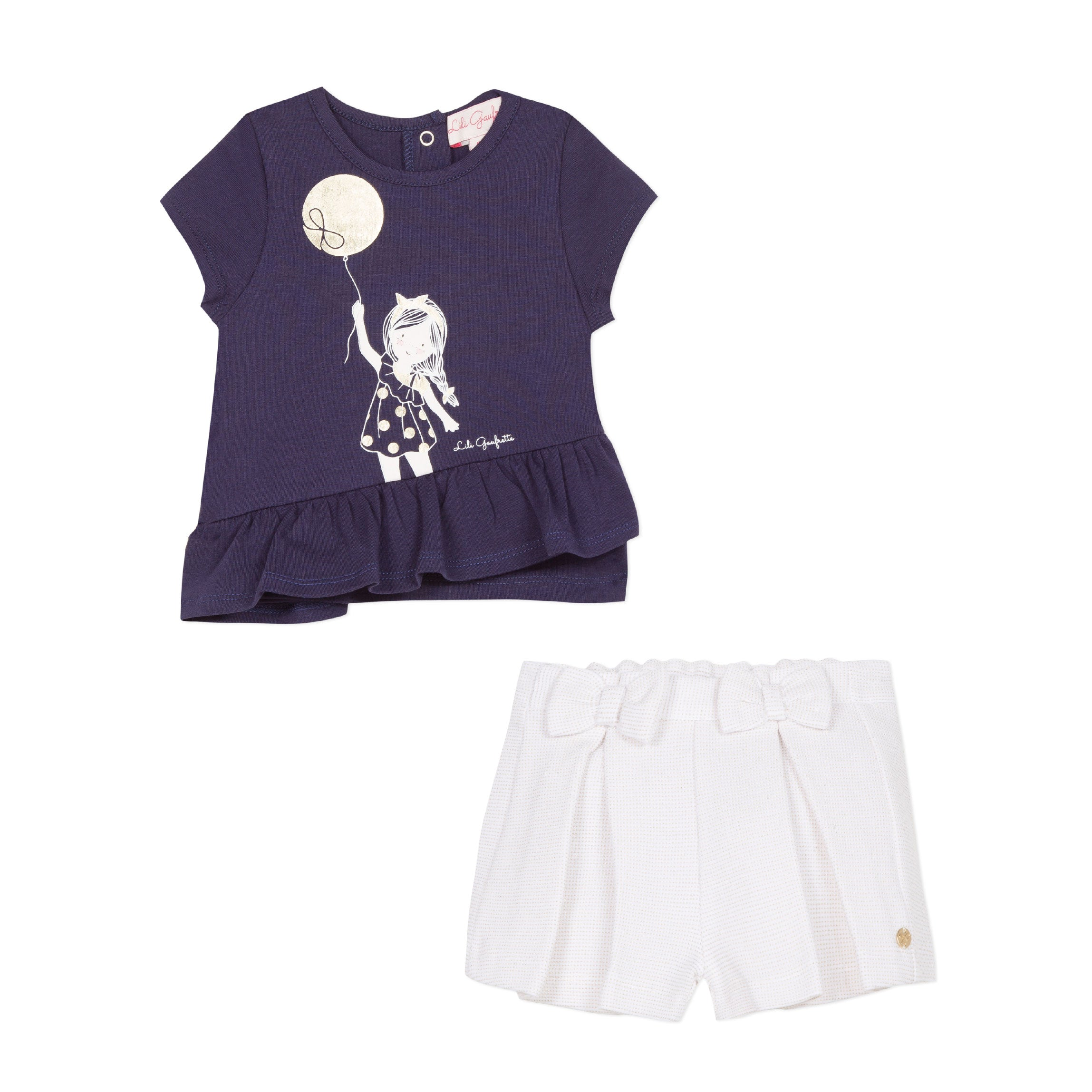 Luxury Baby Fashion by Lili Laufrette at Bonjour Baby Baskets - Best Baby Gifts