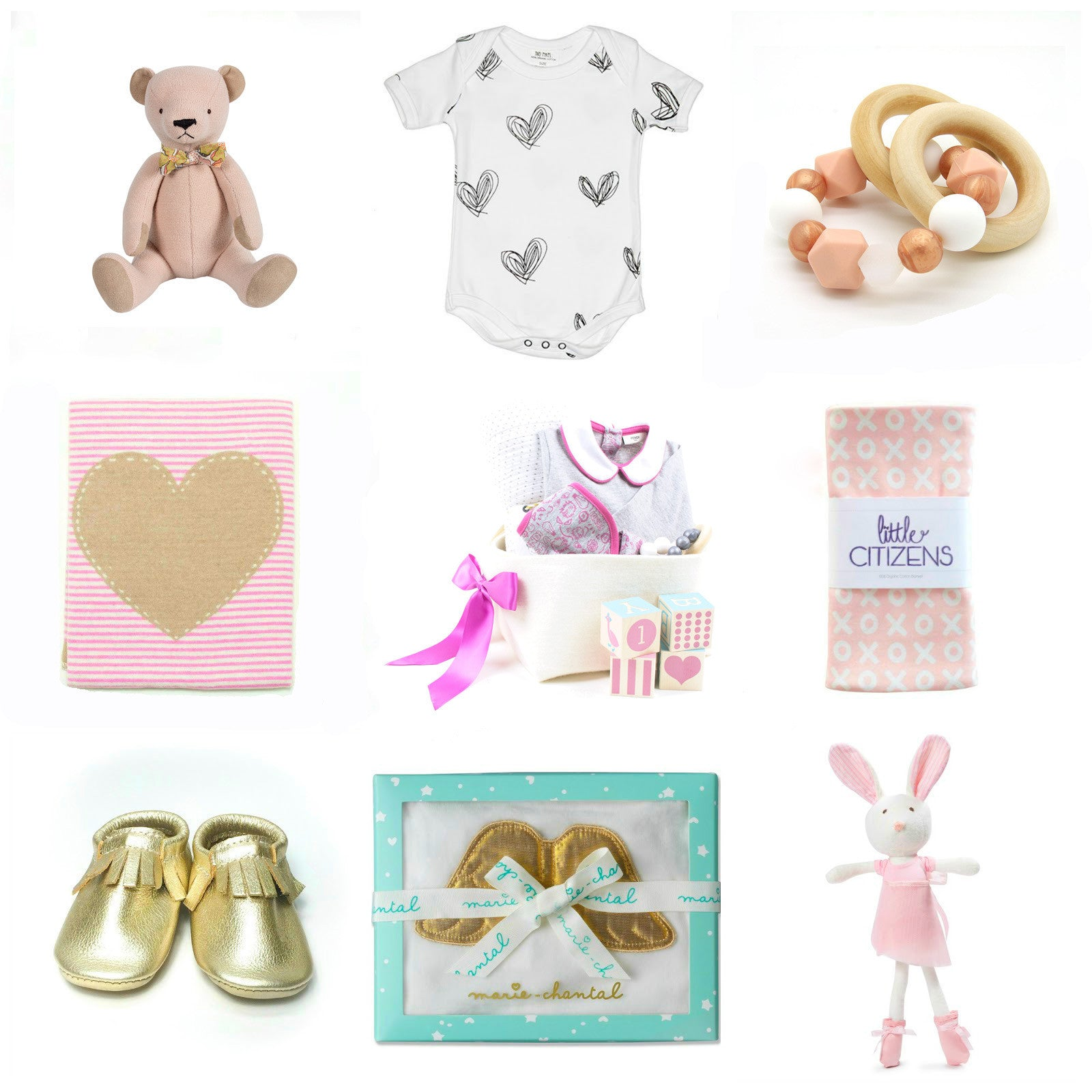 Baby First Valentine's Day Gift Guide by Bonjour Baby Baskets