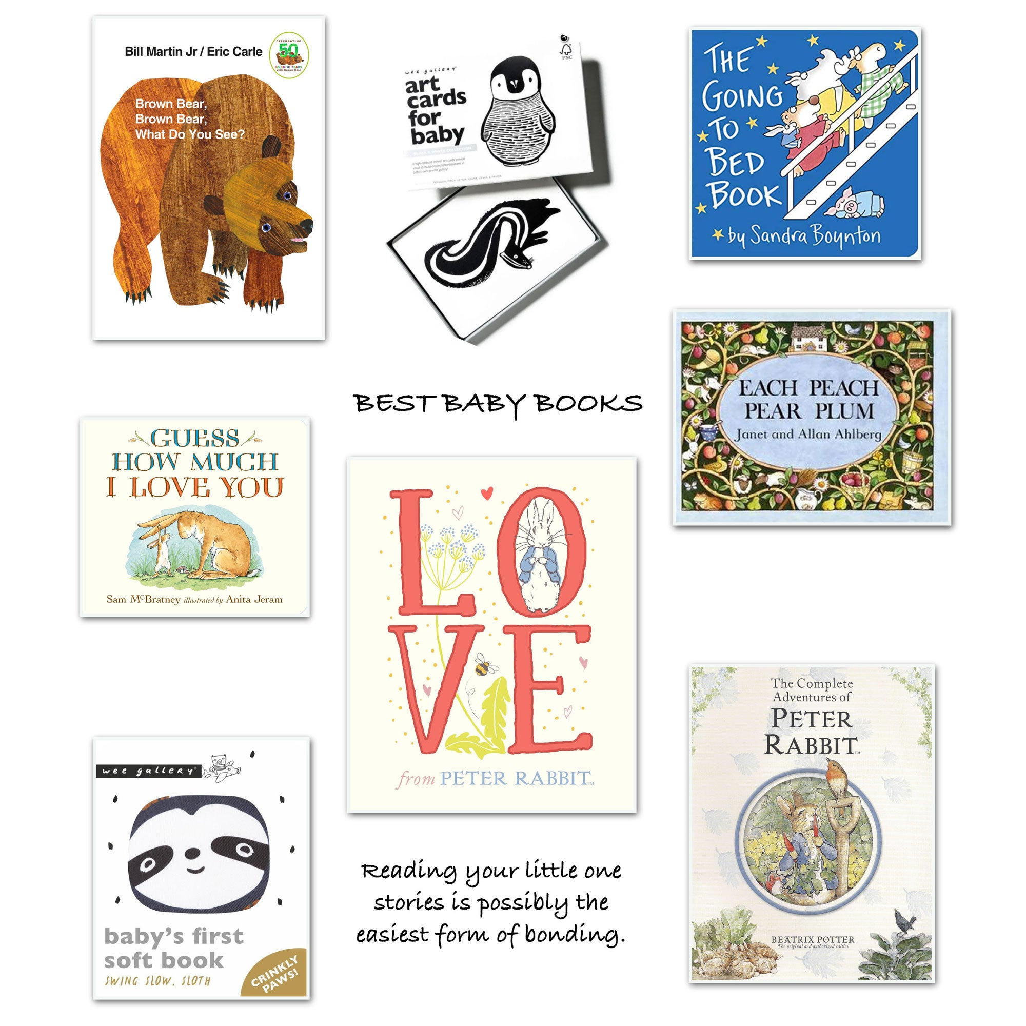 Best selection of Baby Books at Bonjour Baby Baskets