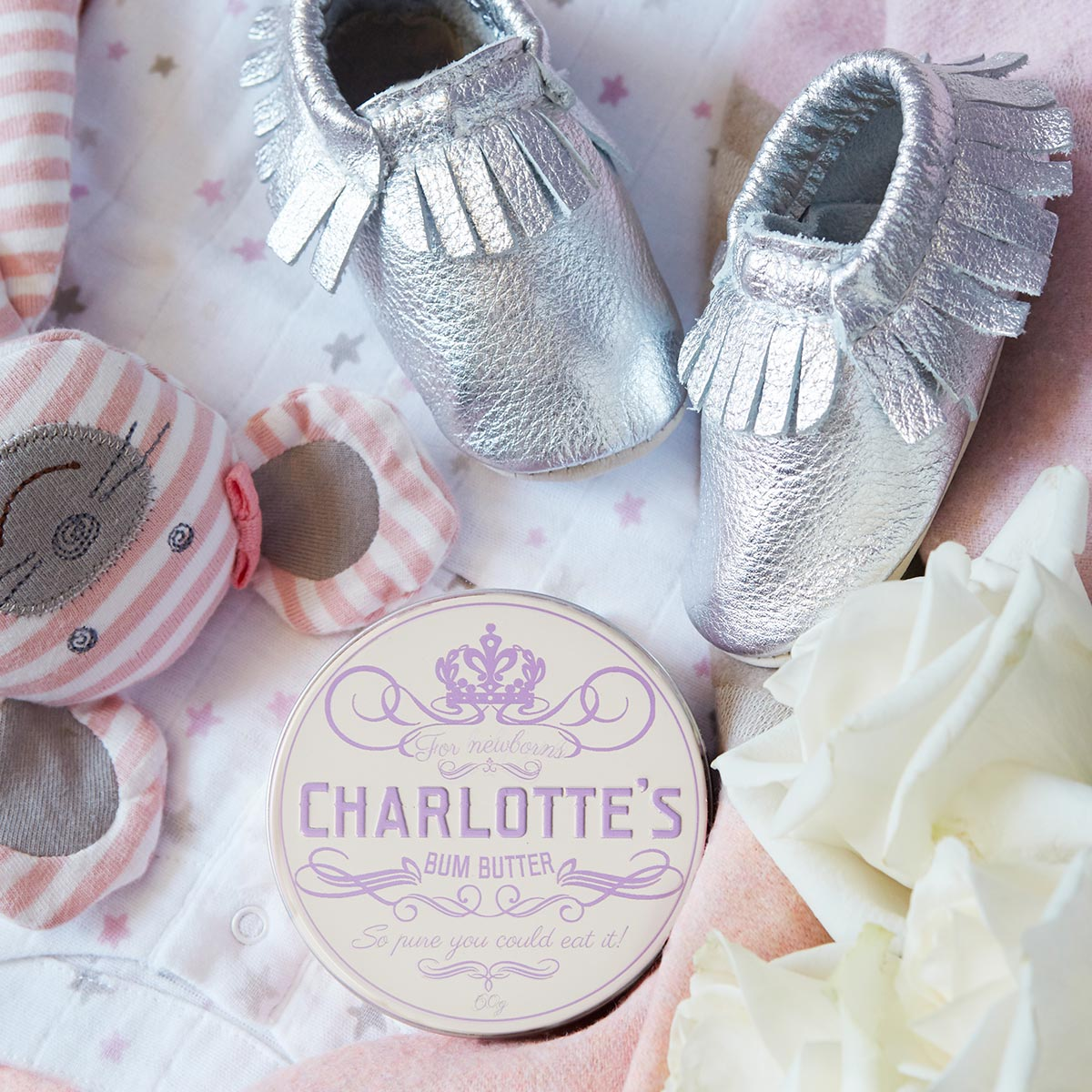 Charlotte's Bum Butter baby skin care