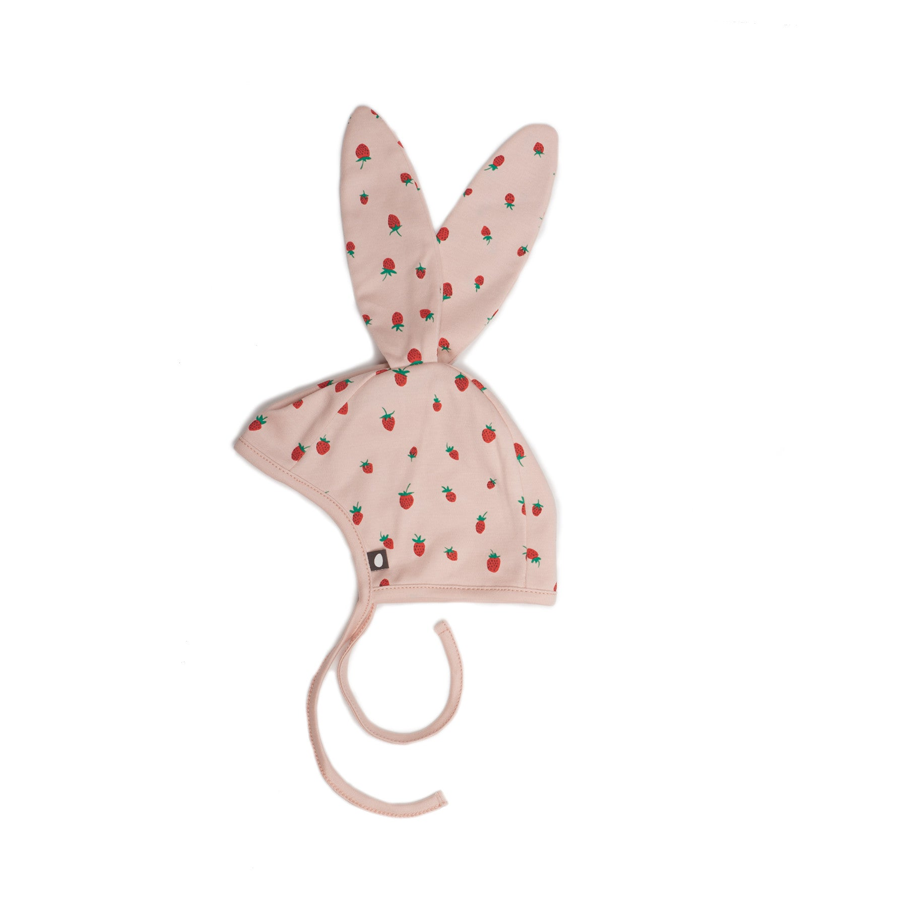 Strawberry Bunny Hat by Oeuf at Bonjour Baby Baskets