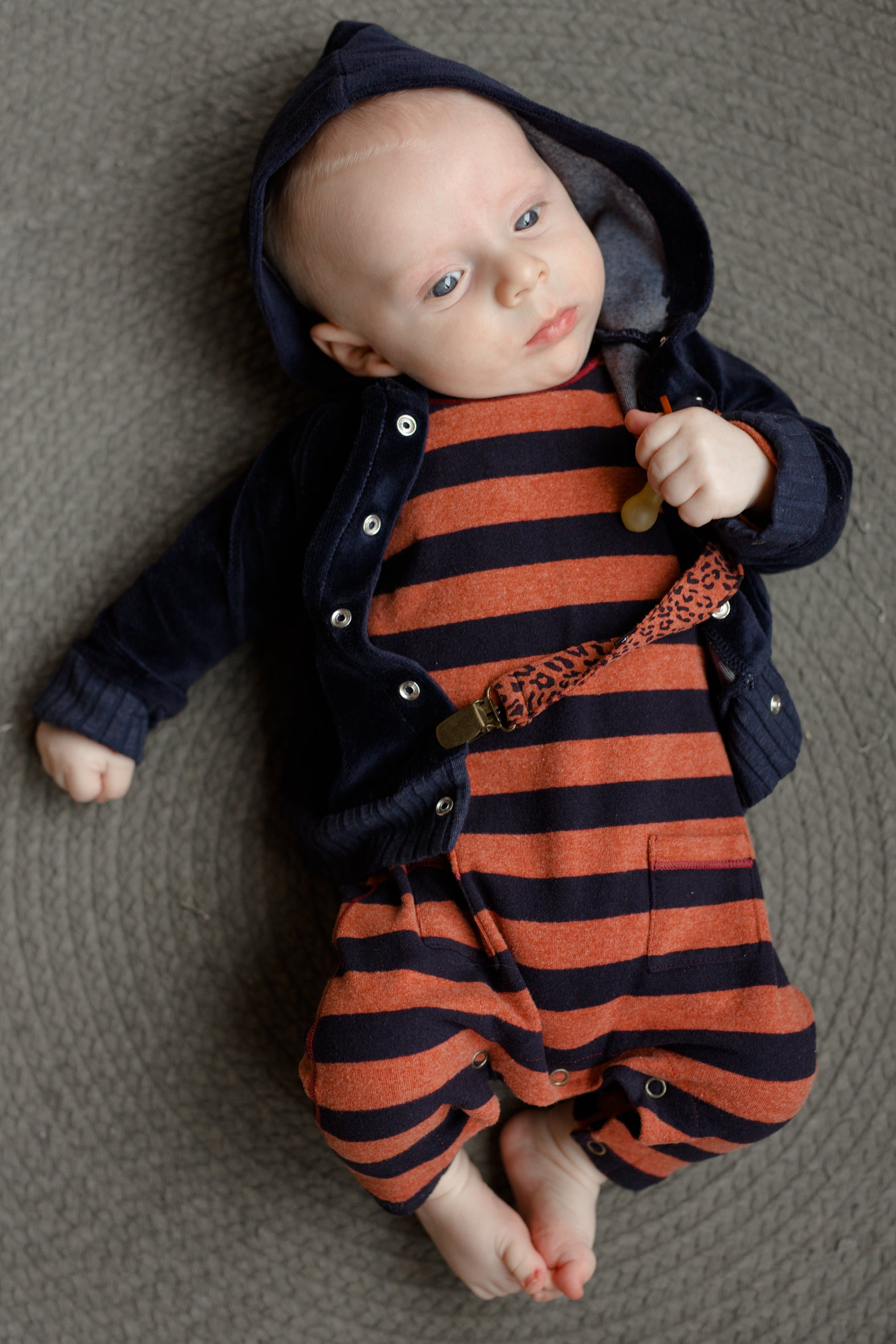 One More in the Family FW collection of baby clothes at Bonjour Baby Baskets
