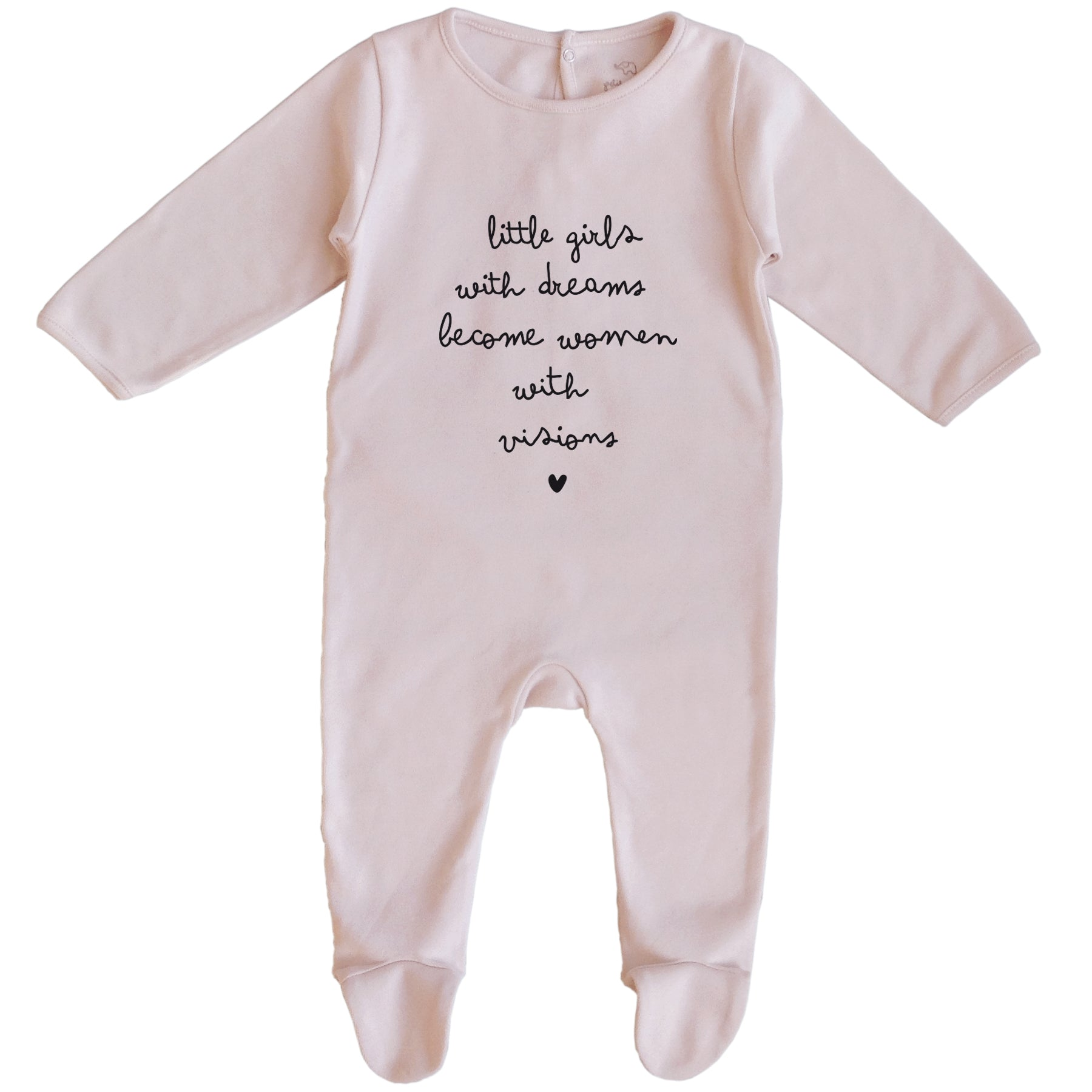 Organic Cotton Baby Girl Romper