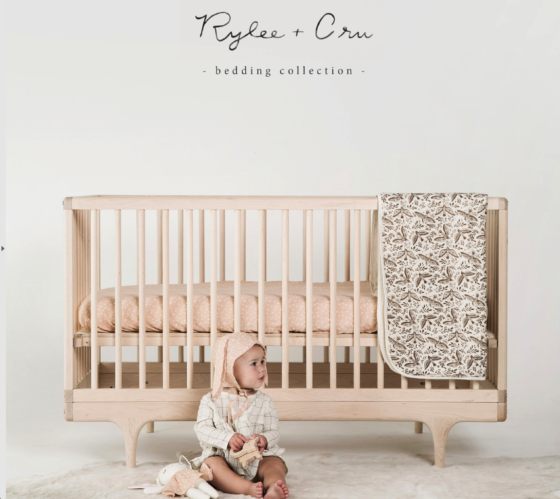 Rylee and Cru new baby blankets at Bonjour Baby Baskets