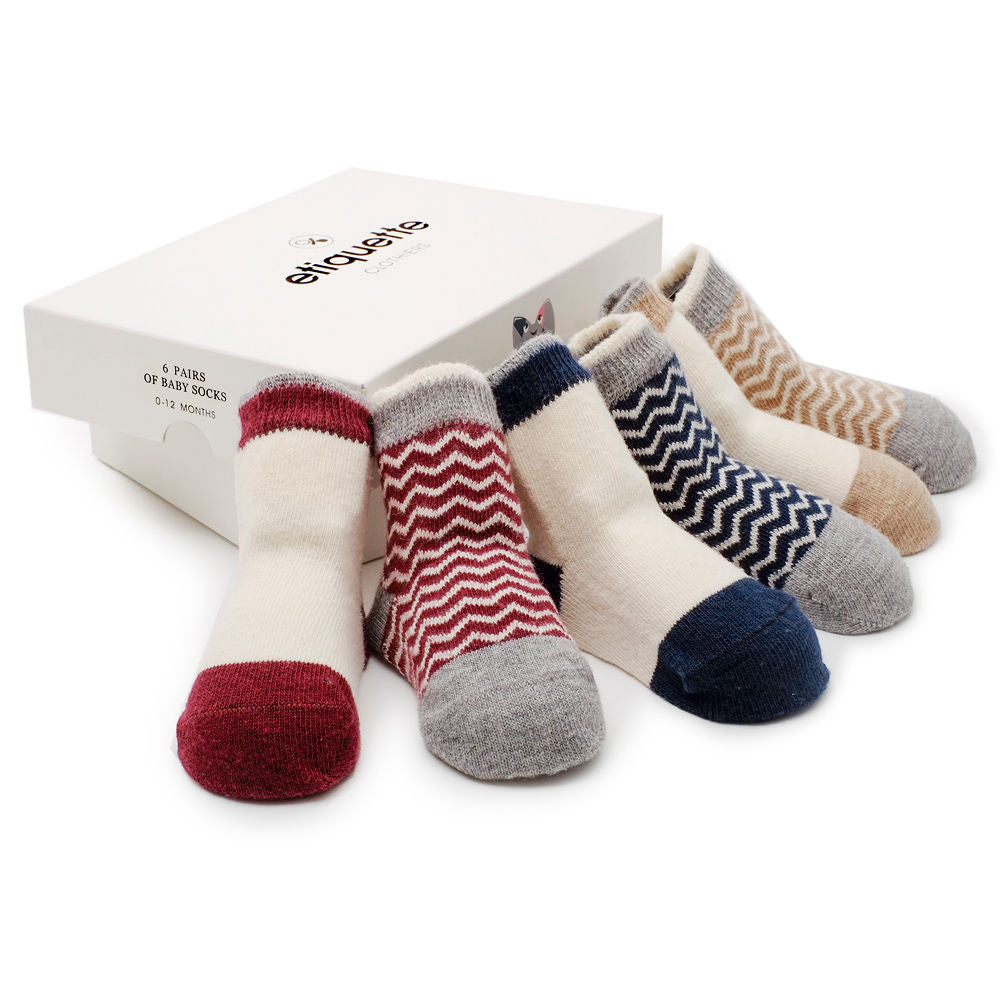 Baby Socks Heritage Bundle 6 Pack