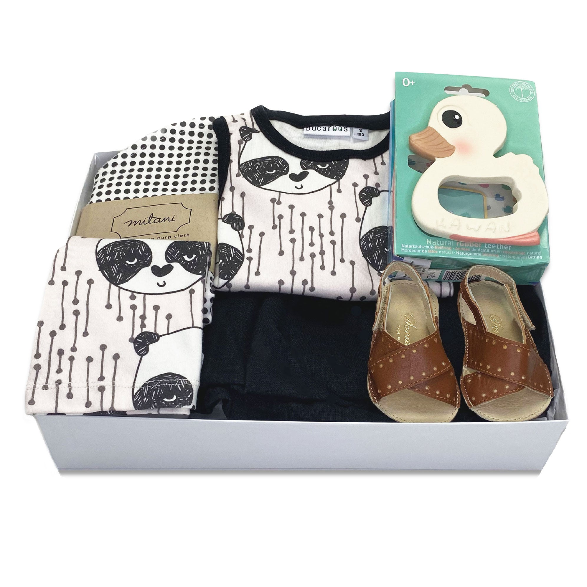 Trendy Baby Gift Box Panda, best Corporate Baby Gifts