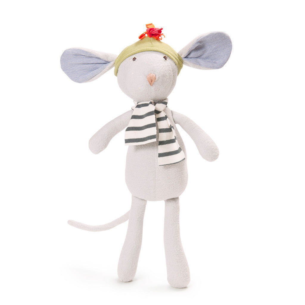 Oliver Mouse Organic Soft Toy -