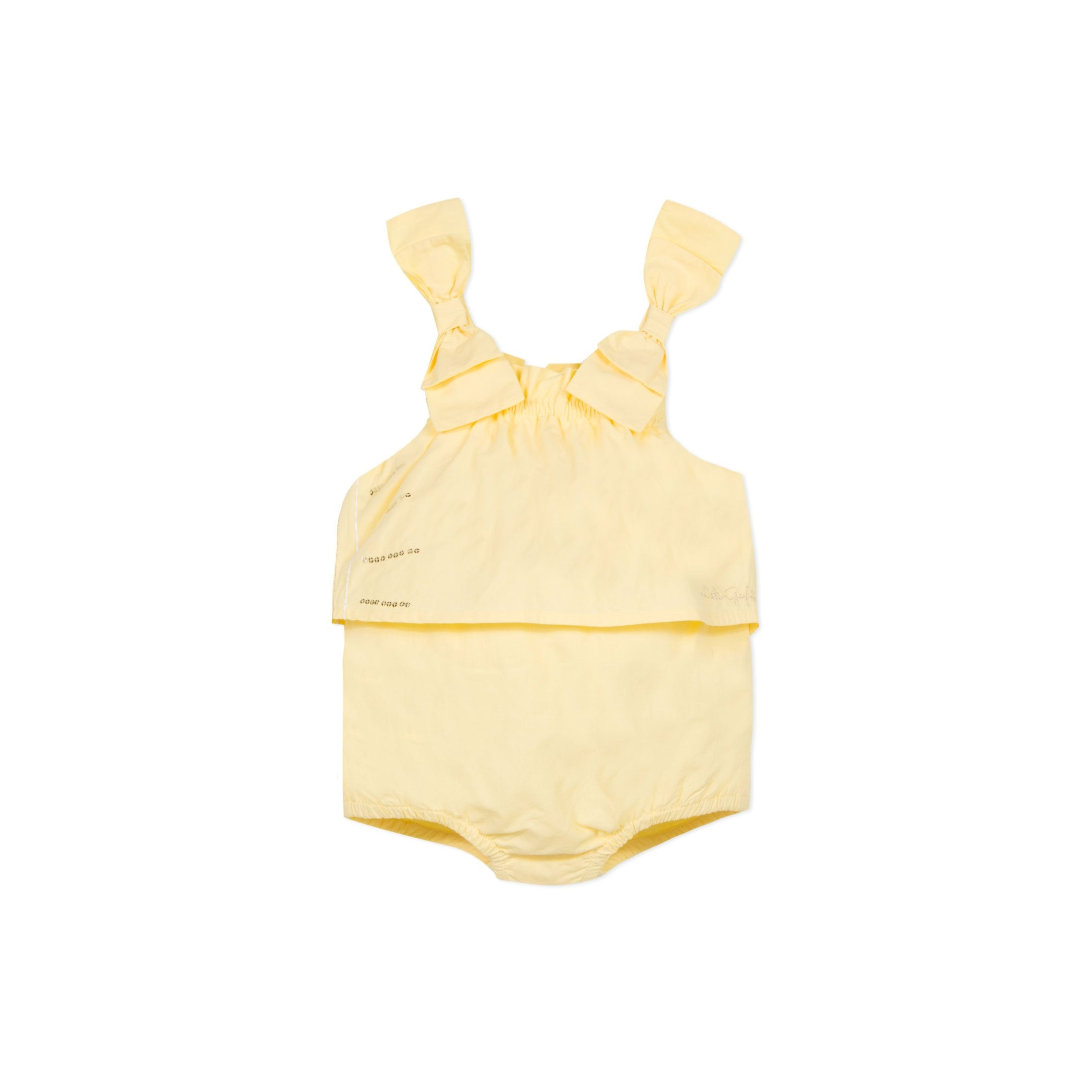 Luxury Baby Girl Romper by Lili Gaufrette at Bonjour Baby Baskets