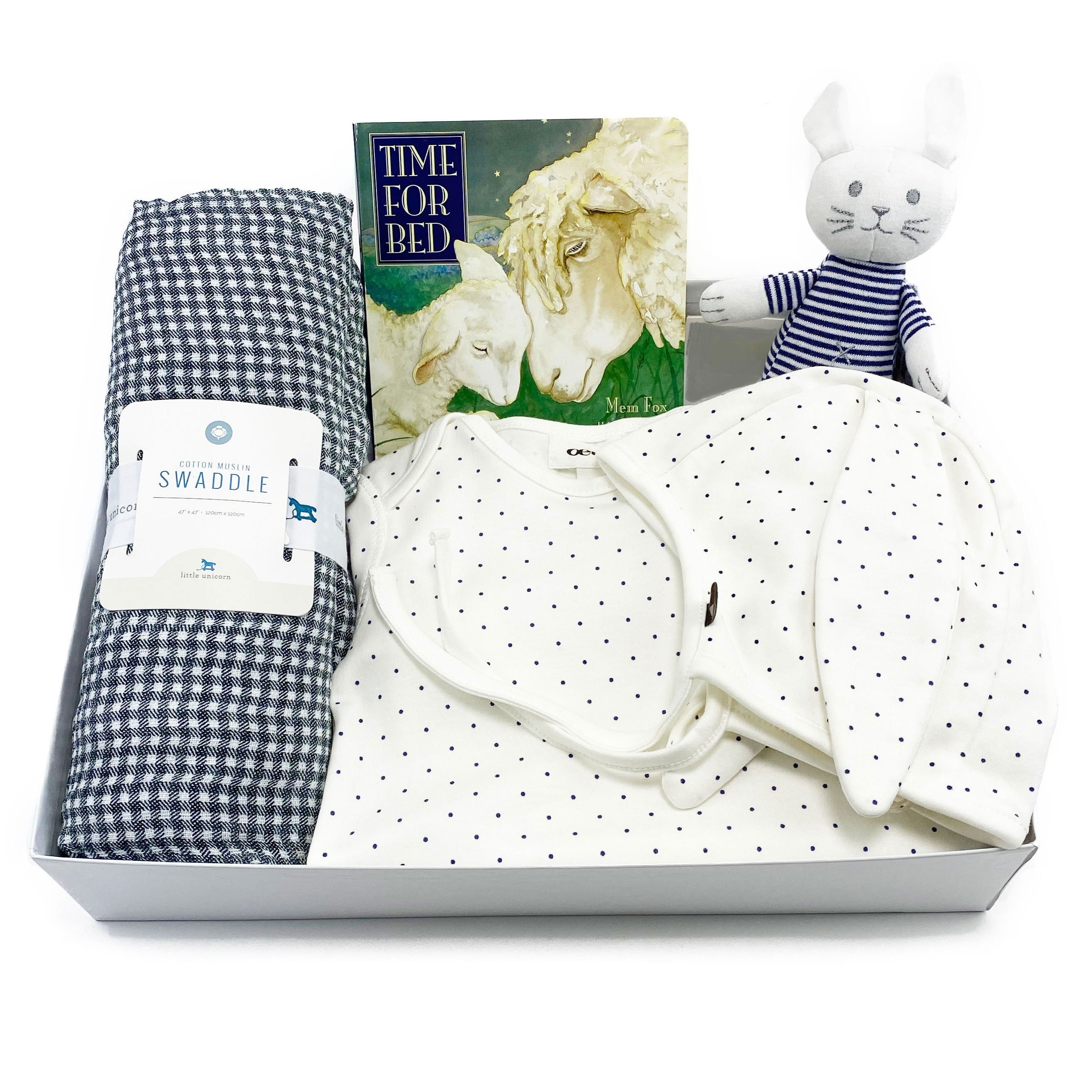 Baby Gift Box featuring Oeuf NYC at Bonjour Baby Baskets