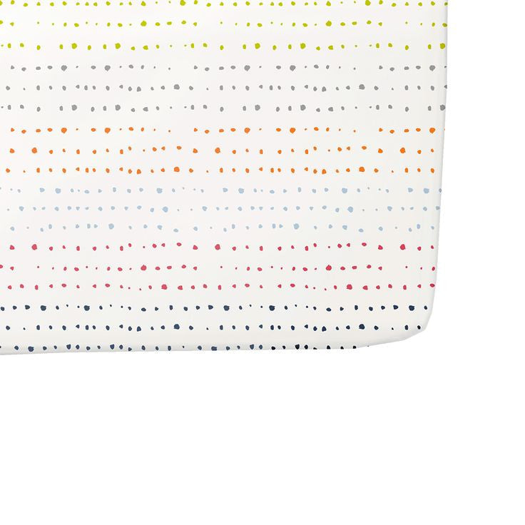 Crib Sheet Painted Dots