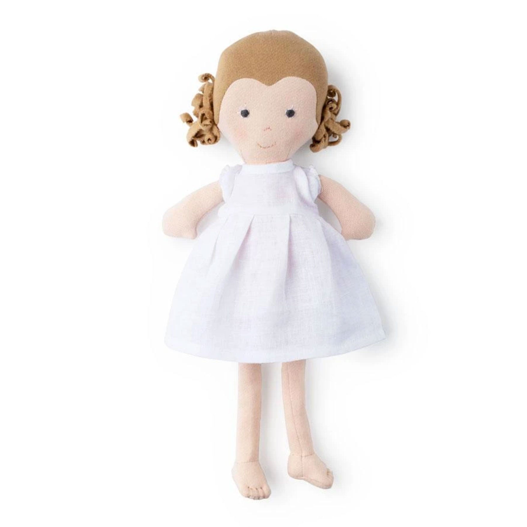 Hazel Village Fern soft doll at Bonjour Baby Baskets, luxury baby gifts