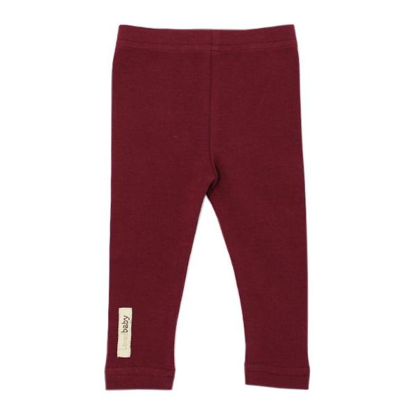 Loved Baby Cranberry Leggings