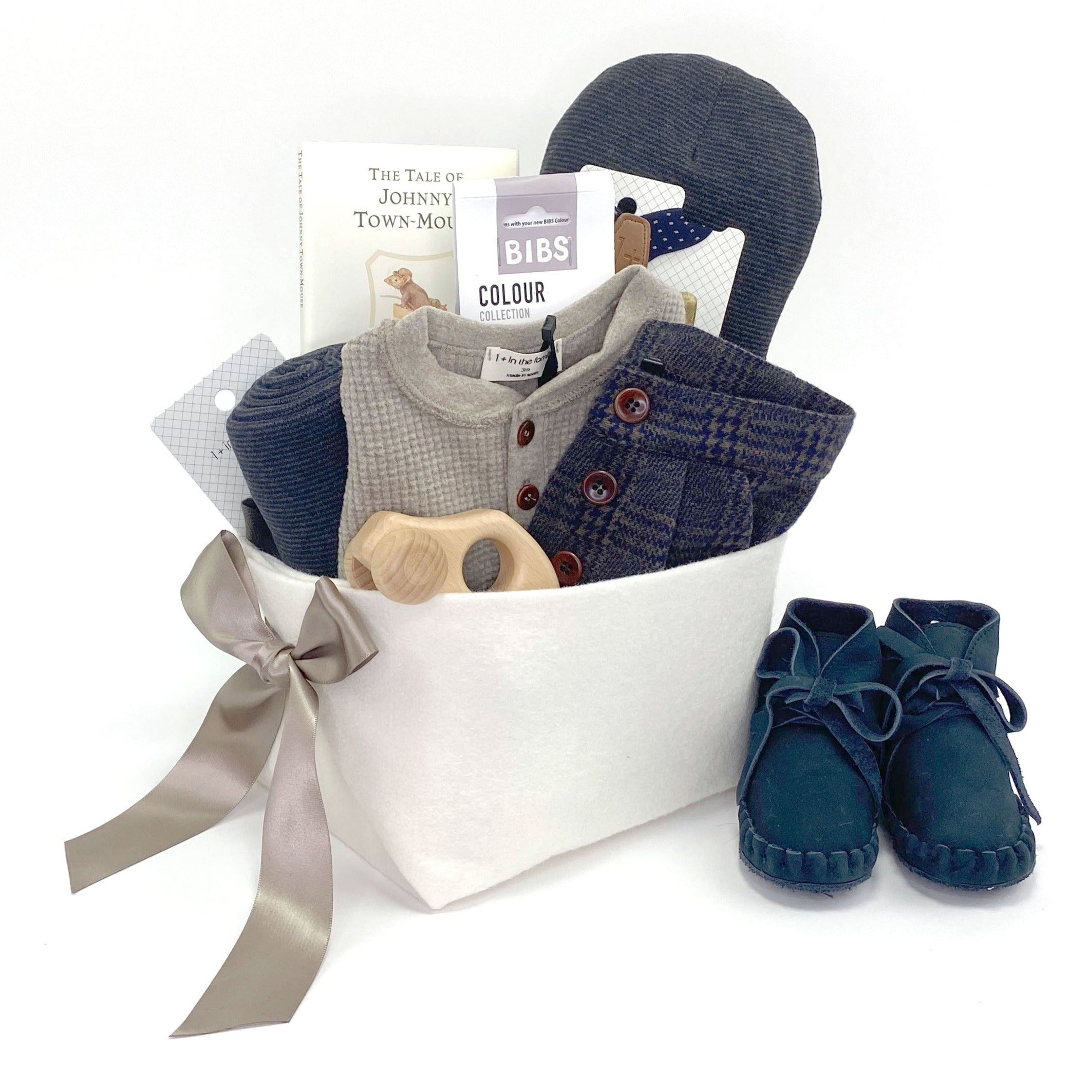 Luxury Baby Boy Gift Basket at Bonjour Baby Baskets, best Corporate Baby Gift