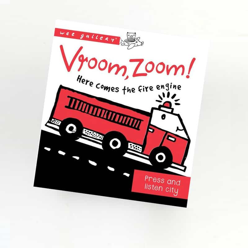 Vroom Zoom - Press and Listen Book