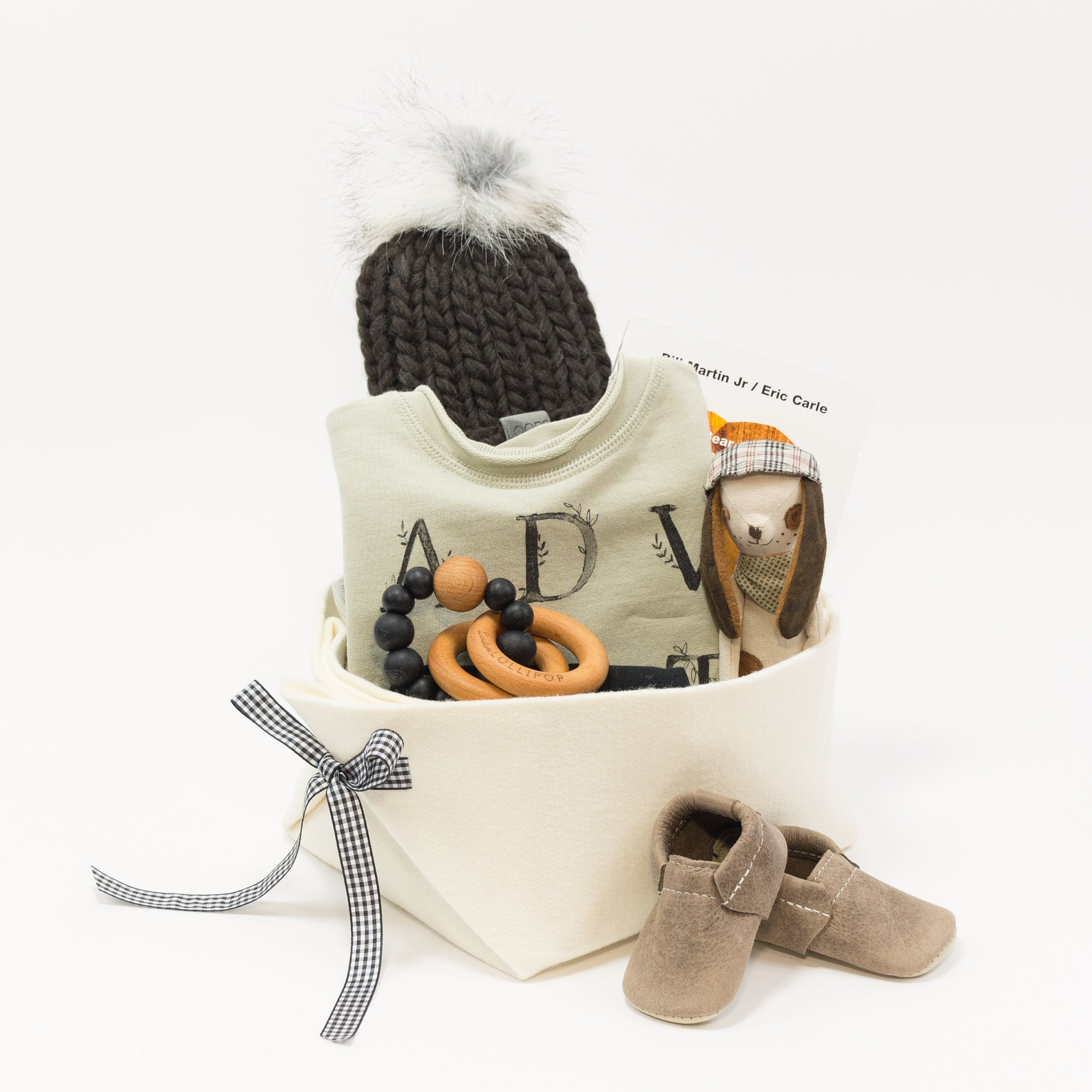 Rylee and Cru Cool Baby Gift Basket at Bonjour Baby Baskets