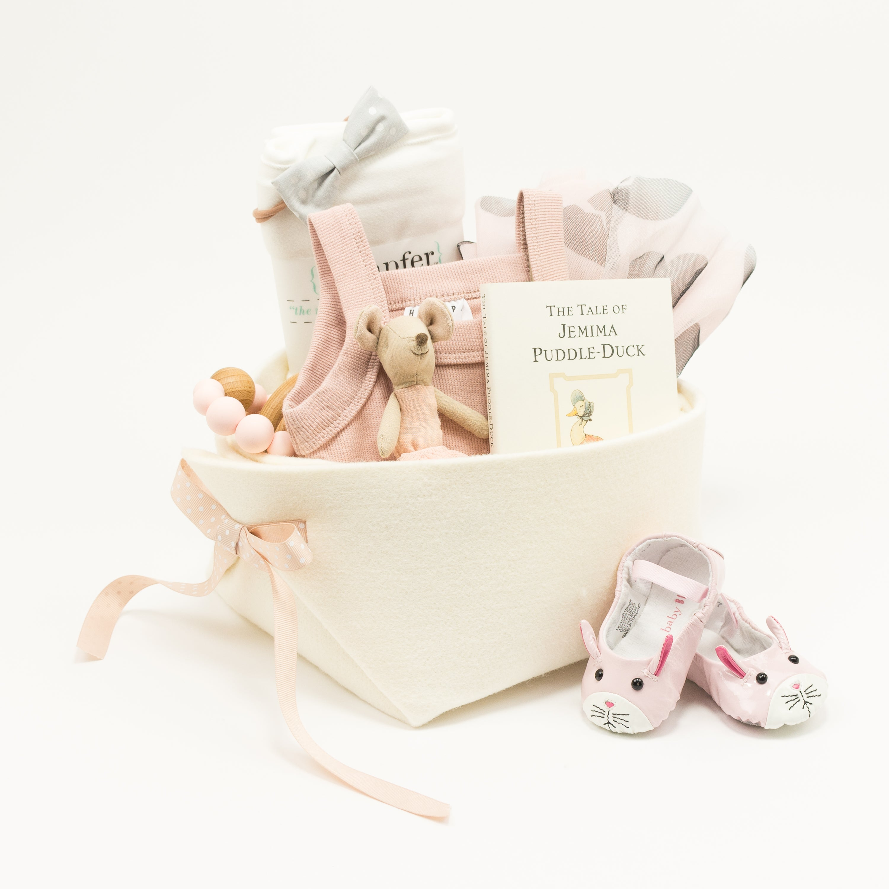 Huxbaby Trendy Baby Gift Basket, perfect for your Corporate Baby Gifts