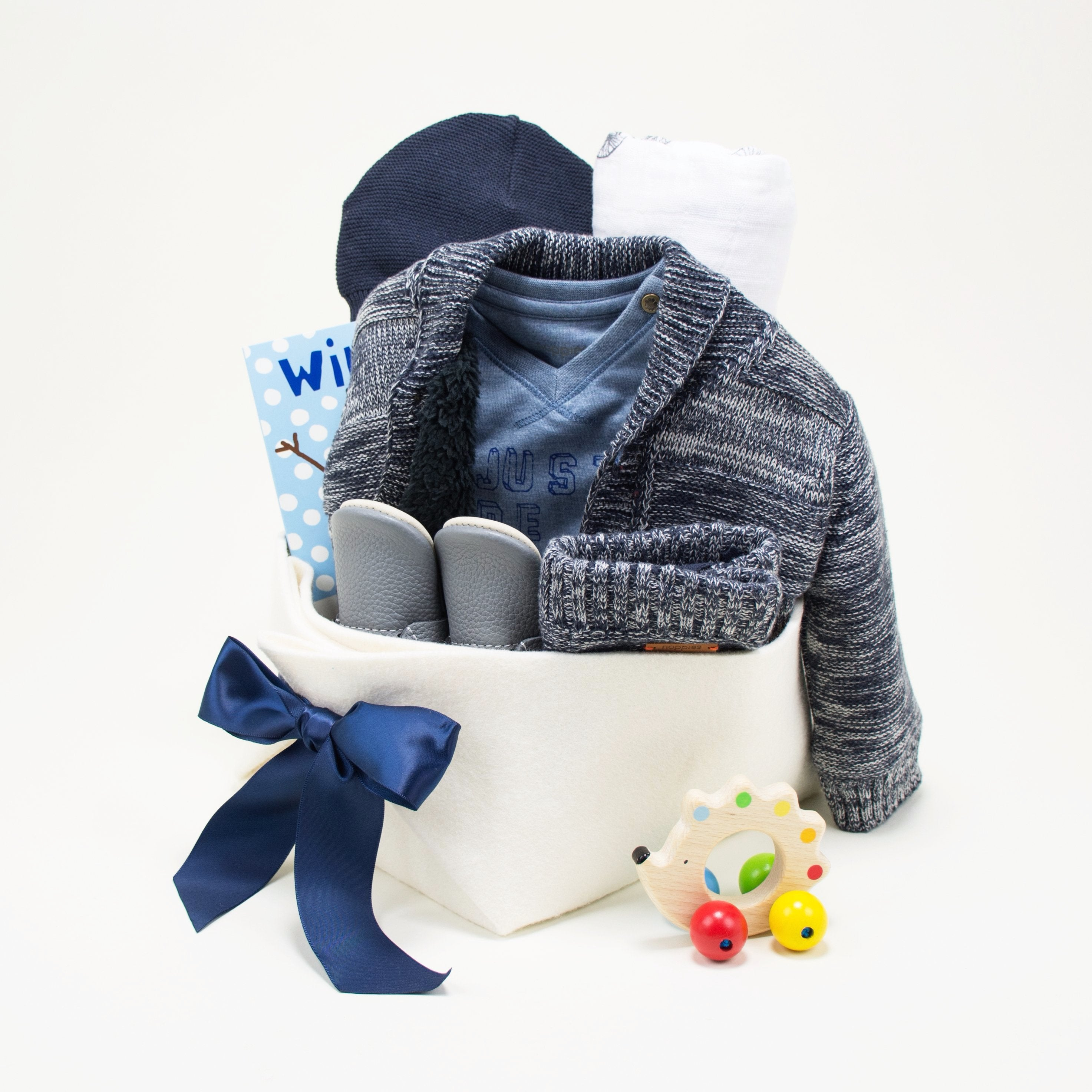 Luxury Baby Boy Gift at Bonjour Baby Baskets