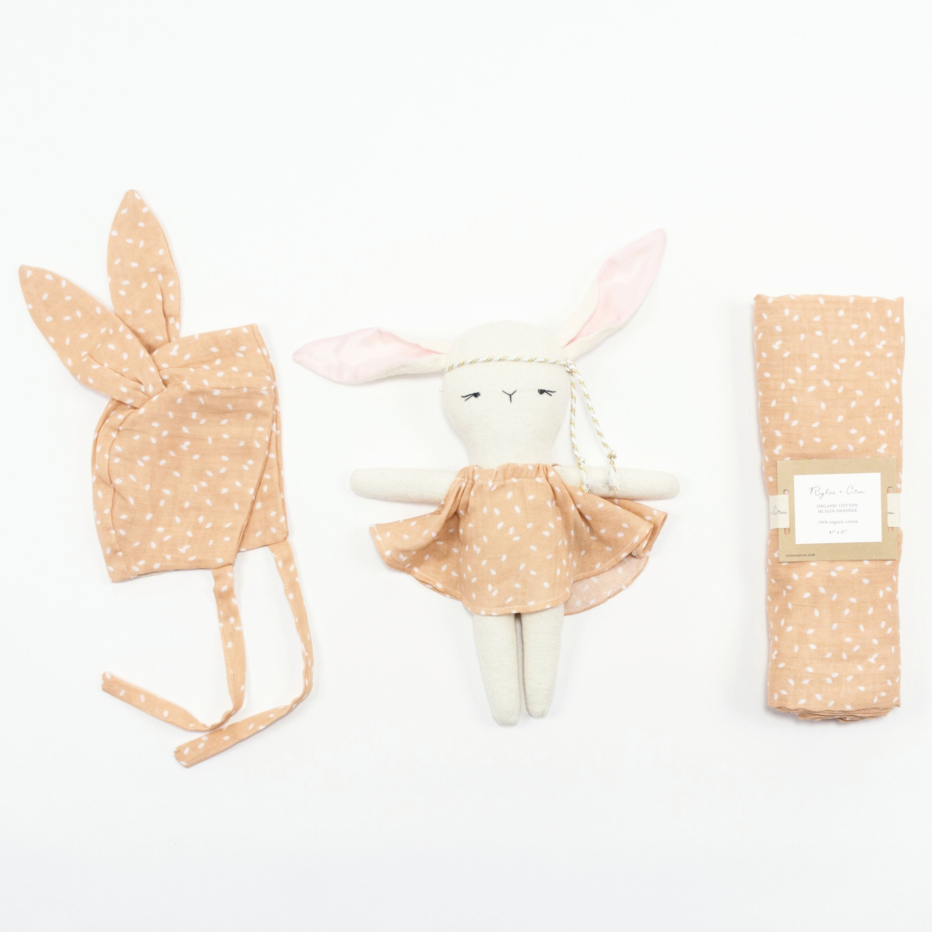 Sweet Bunny Baby Girl Gift Box at Bonjour Baby Baskets