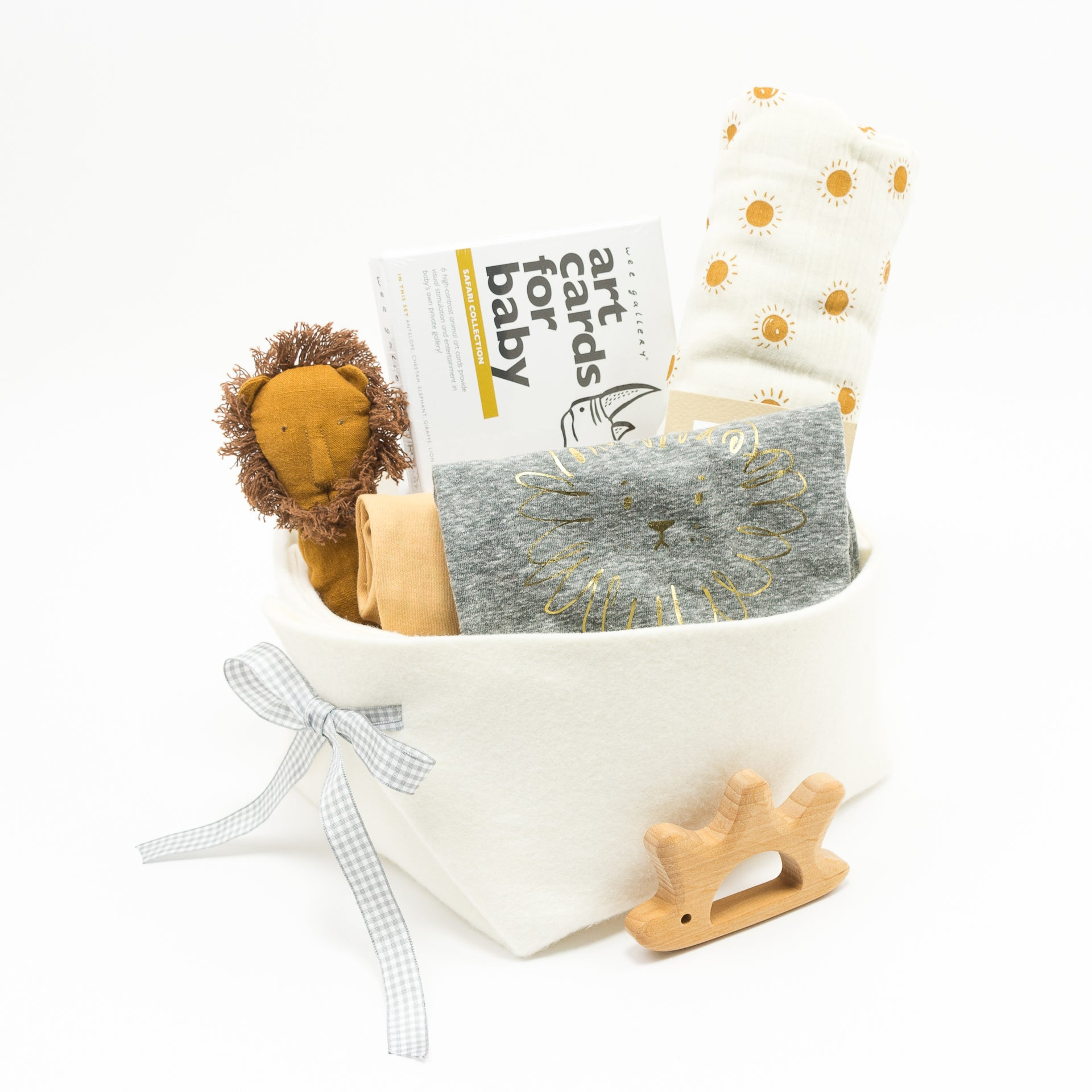 Trendy Baby Gift Basket featuring Huxbaby, perfect Corporate Baby Gift