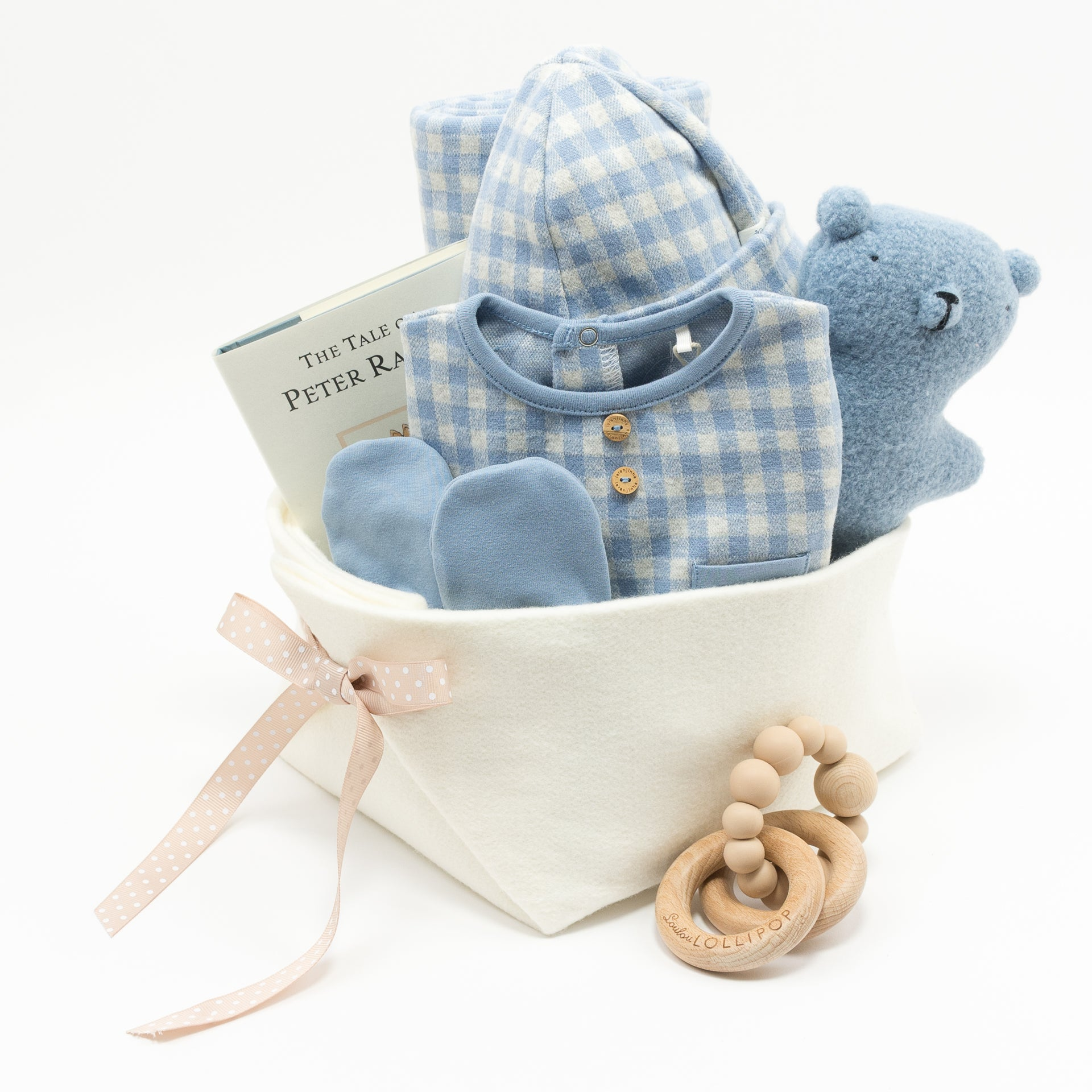 Welcome Home Baby Gift at Bonjour Baby Baskets, Perfect Corporate Baby Gifts