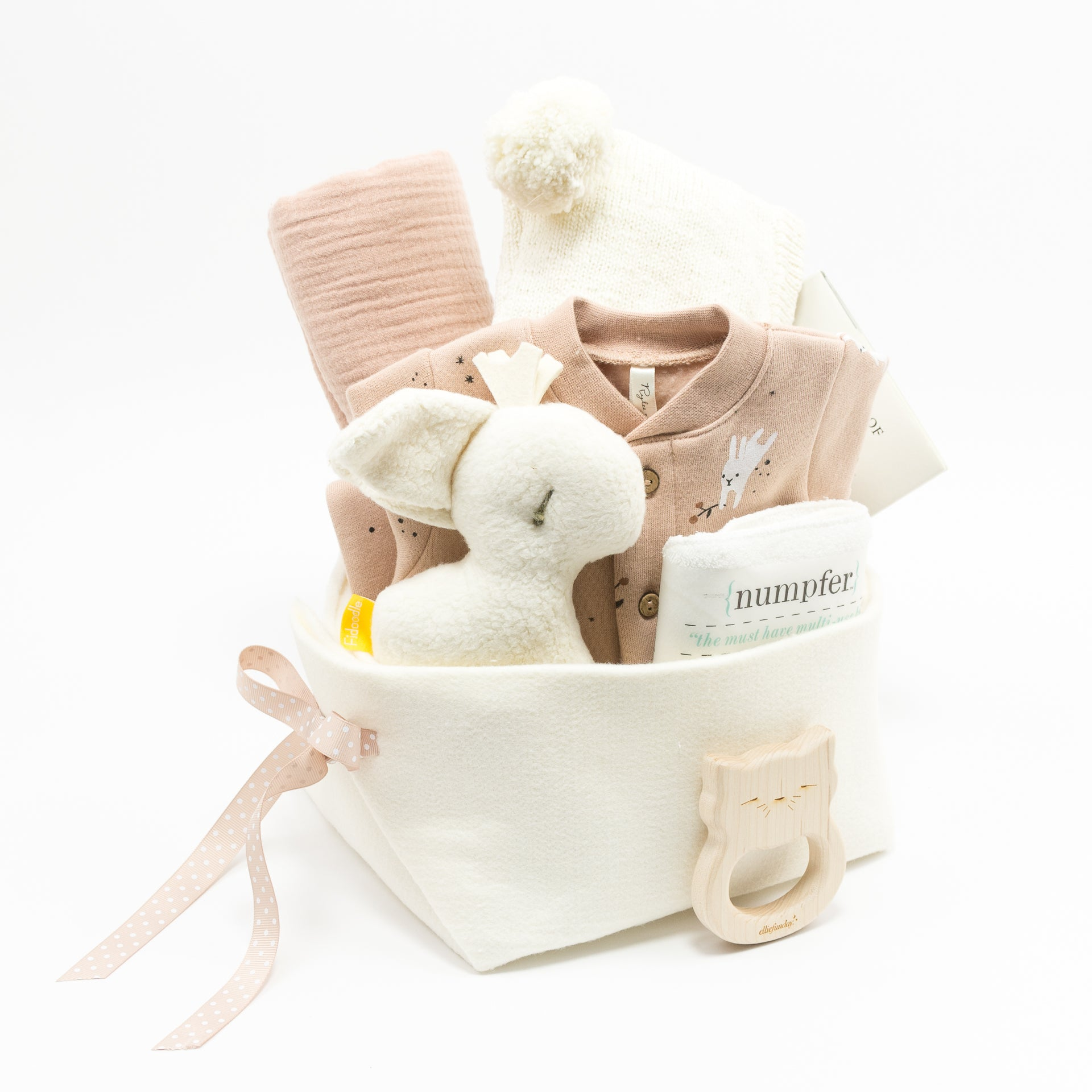 Bunnies Baby Gift Basket