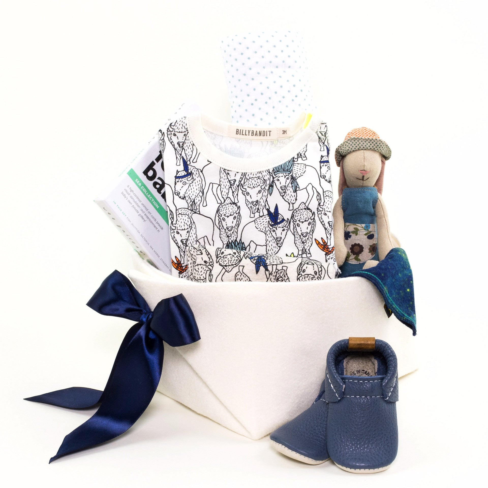 Billybandit Luxury Baby Boy Gift Basket at Bonjour Baby Baskets