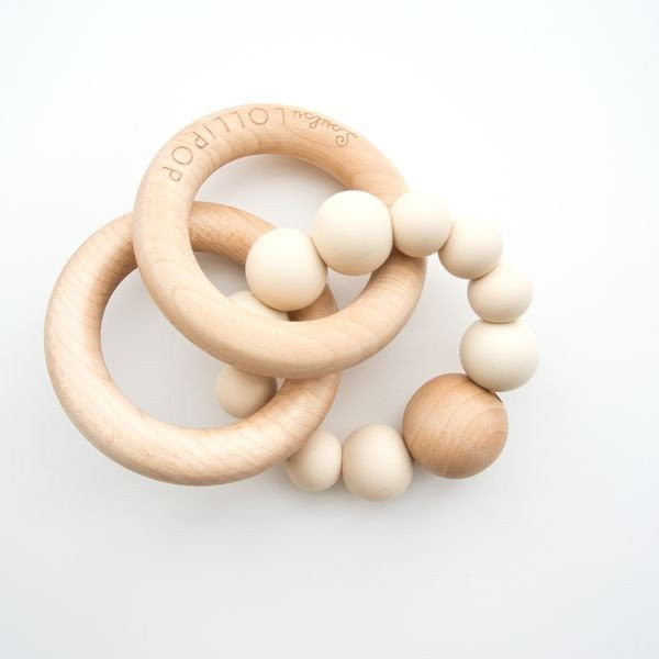 Luxury Baby Gifts Silicone Teether at Bonjour Baby Baskets