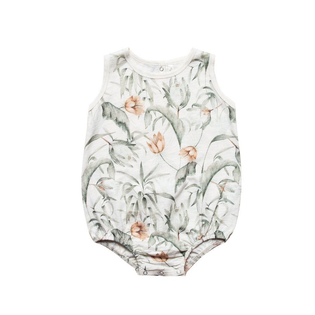 Rylee and Cru Tropical Baby Romper