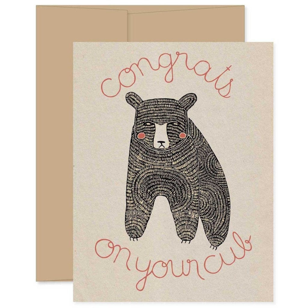 Gingiber Baby Greeting Card at Bonjour Baby Baskets