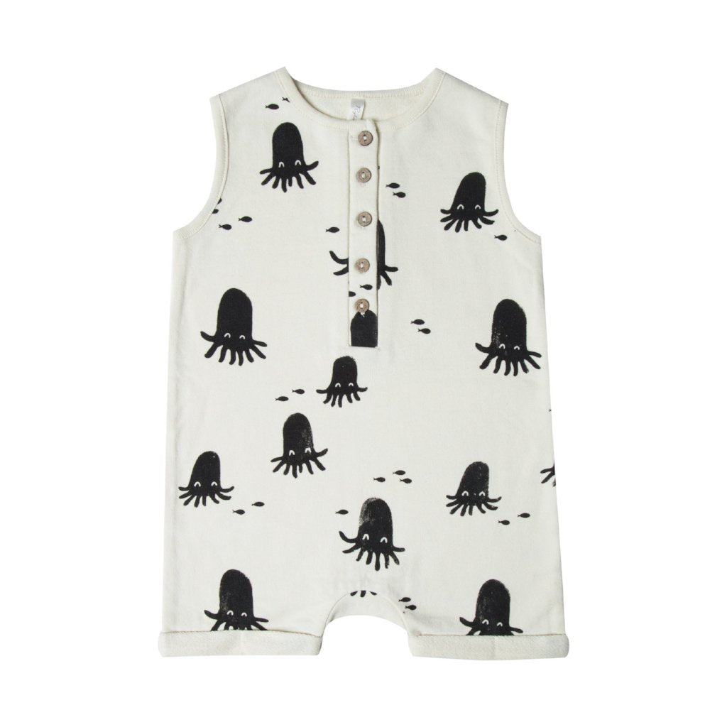 Rylee and Cru octopus romper at Bonjour Baby Baskets