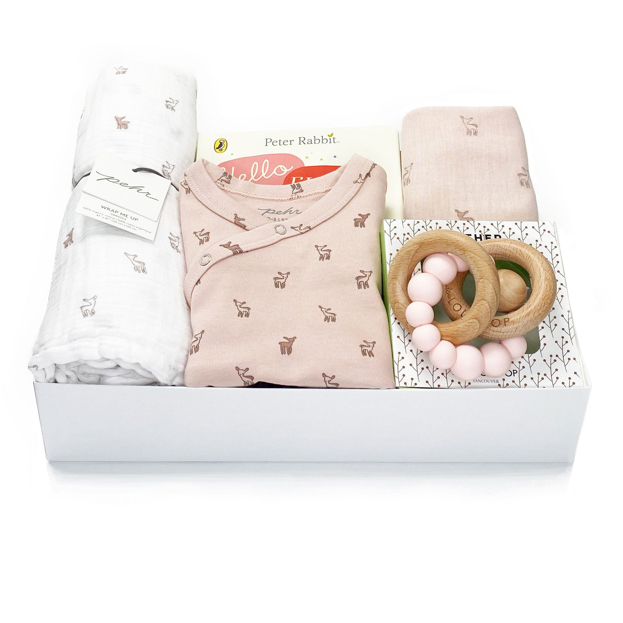 Hatchlings Baby Gift Box at Bonjour Baby Baskets - Luxury Baby Gifts