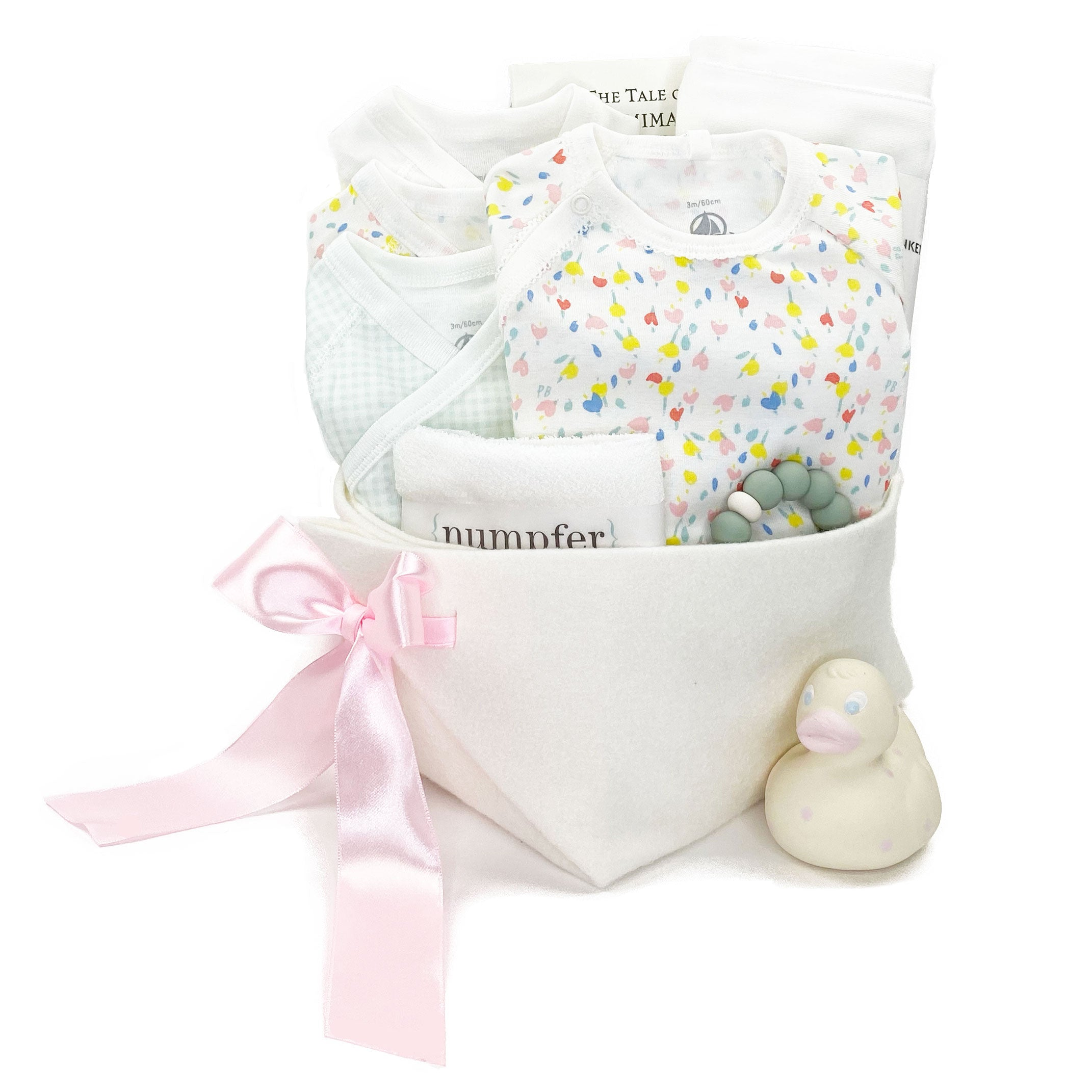 Luxury Baby Boy Gift Basket at Bonjour Baby Baskets featuring Petit Bateau