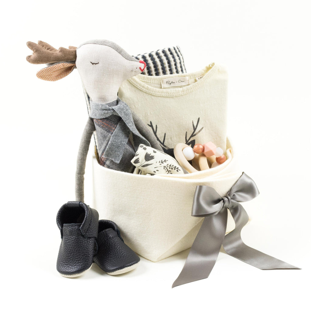 Unique Baby Gift Basket featuring Rylee and Cru - Oh Deer ...
