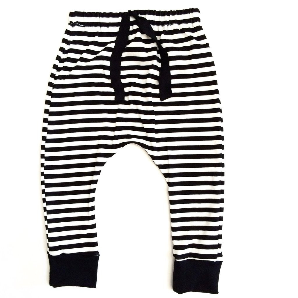 Trendy Baby Harem pants Grid by My Mila at Bonjour Baby Baskets