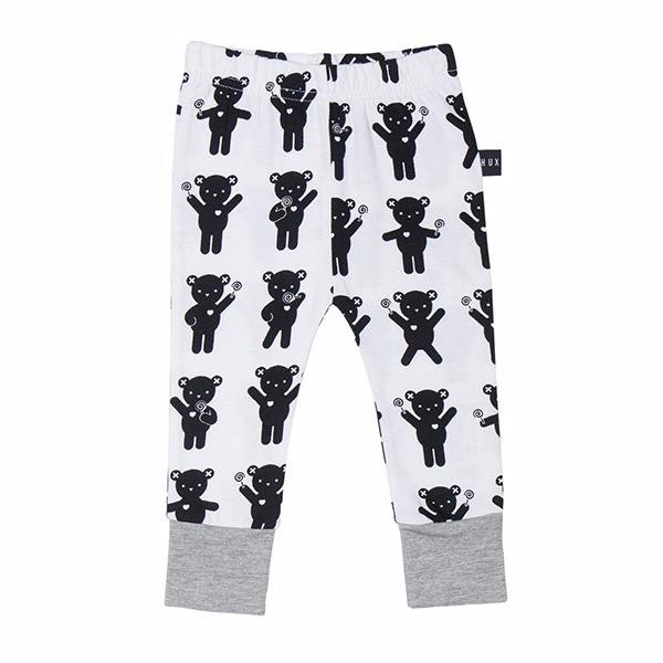 Huxbaby organic cotton baby leggings at Bonjour Baby Baskets