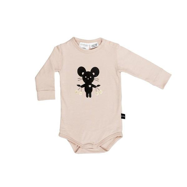 Huxbaby organic cotton onesie and matching socks